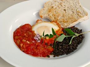 Schysst helgfrukost med huevos rancheros
